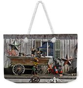 The Old Shed Weekender Tote Bag by Mary Machare