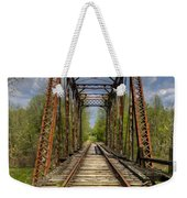 The Old Trestle Weekender Tote Bag by Debra and Dave Vanderlaan