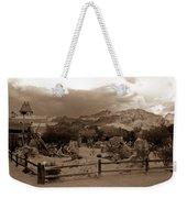 The Old West 1 Weekender Tote Bag