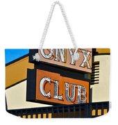 The Onyx Club Weekender Tote Bag