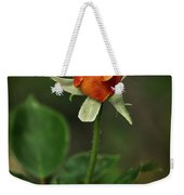 The Orange Rose Weekender Tote Bag