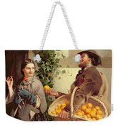 The Orange Seller  Weekender Tote Bag