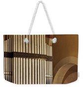 the Organ Augusta Victoria Jerusalem Weekender Tote Bag