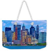 The Other Side Of The City Weekender Tote Bag