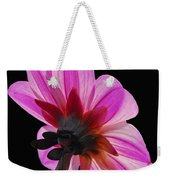 The Other Side Of The Floral Weekender Tote Bag