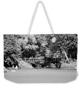 The Overhang In Black And White Weekender Tote Bag