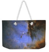 The Pacman Nebula Weekender Tote Bag by Ken Crawford