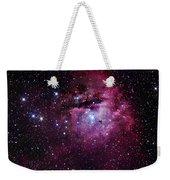 The Pacman Nebula Weekender Tote Bag