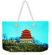The Pagoda Weekender Tote Bag