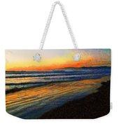 The Painted Waves Of Dawn  Weekender Tote Bag