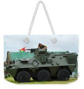 The Pandur 6x6 Family Of Wheeled Weekender Tote Bag by Luc De Jaeger