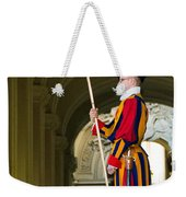 The Papal Swiss Guard Weekender Tote Bag