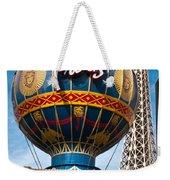 The Paris Weekender Tote Bag