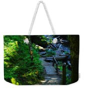 The Path To Iron Creek  Weekender Tote Bag