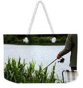 The Patient Fisherman Weekender Tote Bag