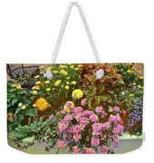The Patio At Coffee O - Falmouth - Cape Cod - Massachusetts Weekender Tote Bag