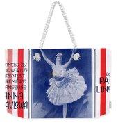 The Pavlowa Gavotte Weekender Tote Bag