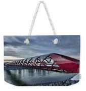 The Peace Bridge Weekender Tote Bag