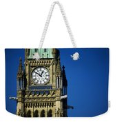 The Peace Tower, On Parliament Hill Weekender Tote Bag