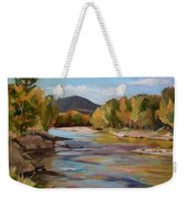 The Pemi In Autumn One Weekender Tote Bag