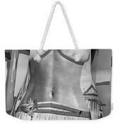 The Perfect Apron Monochrome Weekender Tote Bag