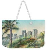The Pike And Downtown Long Beach Weekender Tote Bag