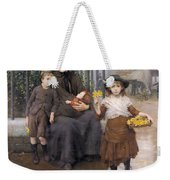 The Pinch Of Poverty Weekender Tote Bag