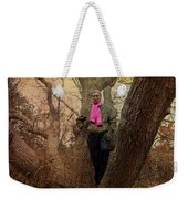 The Pink Scarf Weekender Tote Bag
