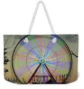 The Pinwheel Glow Weekender Tote Bag