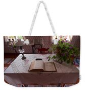 The Place Of The Bible In Kovero Weekender Tote Bag