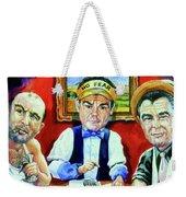 The Poker Game Weekender Tote Bag