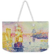 The Port Of Marseilles Weekender Tote Bag