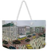 The Portsmouth Ohio Post Office On The Esplanade 1948 Weekender Tote Bag