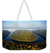 The Potomac River Makes A Hairpin Turn Weekender Tote Bag