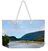 The Potomic River West Virginia Weekender Tote Bag by Bill Cannon