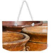 The Potters Terracotta Wares Weekender Tote Bag