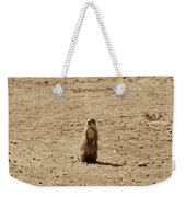 The Prairie Dog Weekender Tote Bag