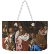 The Presentation Of Christ In The Temple Weekender Tote Bag