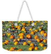 The Pumpkin Patch Weekender Tote Bag