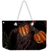 The Pumpkins In The Field Weekender Tote Bag