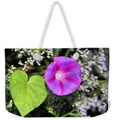 The Queen's Morning Glory Weekender Tote Bag