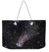 The Question Mark Nebula In Orion Weekender Tote Bag