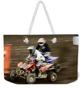 The Race To The Finish Line Weekender Tote Bag