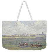 The Racecourse At Boulogne-sur-mer Weekender Tote Bag