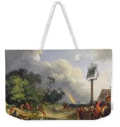 The Rainbow Weekender Tote Bag