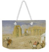 The Ramesseum At Thebes Weekender Tote Bag