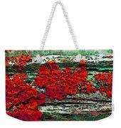 The Red Clouds Weekender Tote Bag