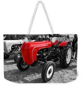 The Red Porsche Weekender Tote Bag