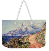 The Red Road Near Menton Weekender Tote Bag