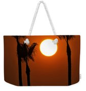 The Red Sunset  Weekender Tote Bag
